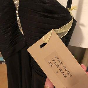 Mignon Dresses - Mignon Embellished Neck Gown